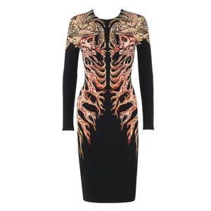 Alexander McQueen Hells Angels Sheath Dress